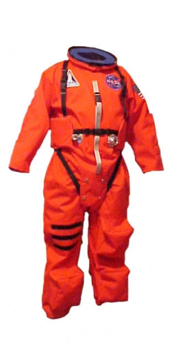 Deluxe Space Shuttle Pumpkin Space Suit