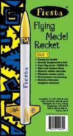 Fiesta Flying Model Rocket Kit