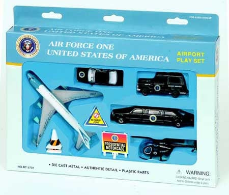 Air Force One 747 Airport Set