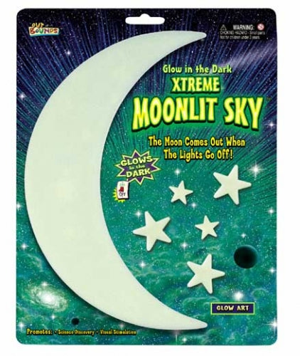 Glow in the Dark Xtreme Moonlit Sky