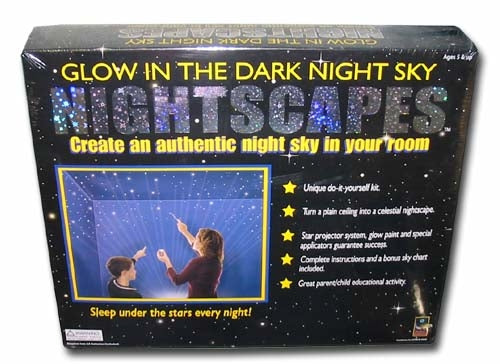 Glow in the Dark Nightscapes Create a Night Sky Kit