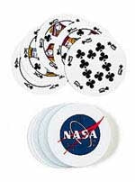NASA Round Playing Cards