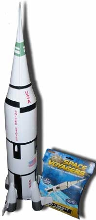 Heavy Duty Inflatable Apollo Saturn V Rocket