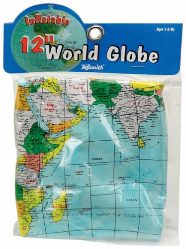 Inflatable 12 inch Earth Globe