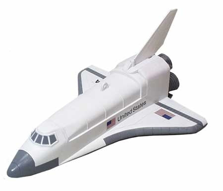 Orbiting Flight Action Space Shuttle