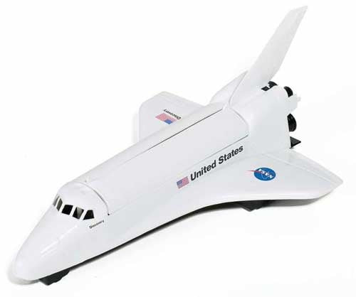 Large Plastic Space Shuttle