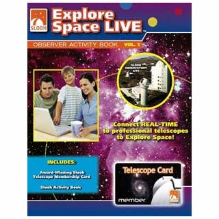 SLOOH TELESCOPE CARD WITH WORKBOOK