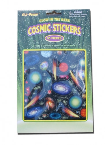 Glow in the Dark Stickers Cosmic