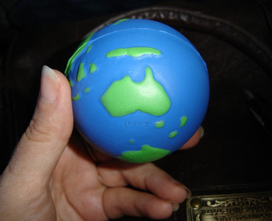 6 Earth Stress balls