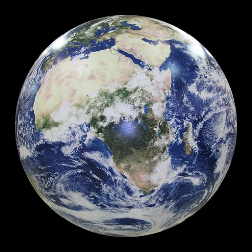 NASA Photo Inflatable Globe