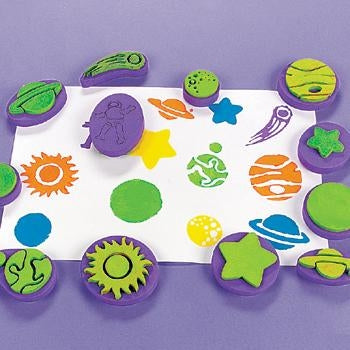 Foam paint stamp set
