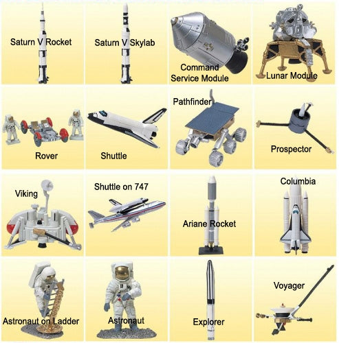 Furuta American Space Program Miniatures