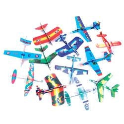 36 Assorted Styrofoam Gliders