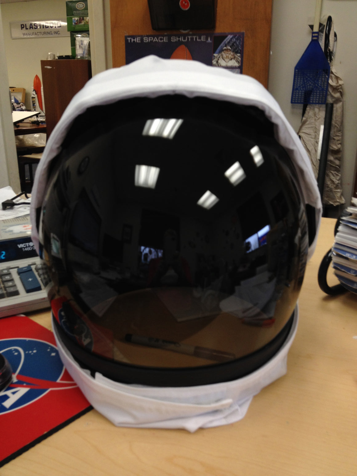 Astronaut Space Helmet Replica