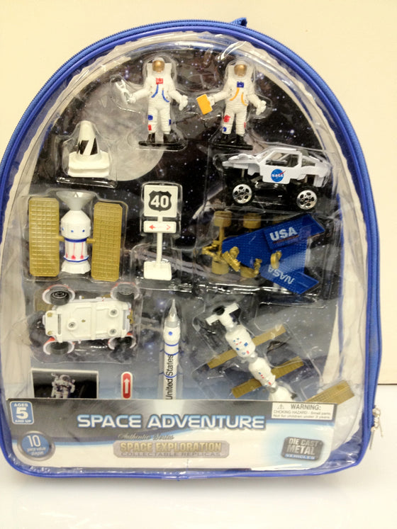 Space Exploration Backpack Set