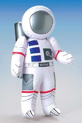 27 Inflatable Astronaut