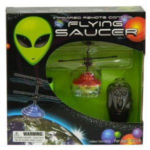 Infared Remote Control Flying Saucer