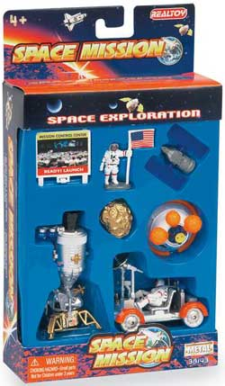 8 piece lunar explorer play set