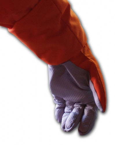 Orange Shuttle Pumpkin Suit Gloves