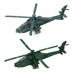 6 Pull back helicopters