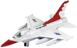 Die cast Pull back f-16 (6 pack)