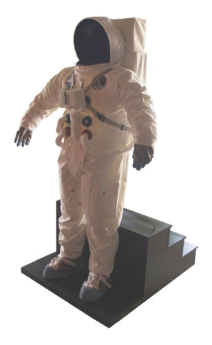 Apollo 11 Space Suit Photo Op Display