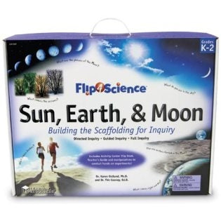 Flip4Science Sun, Earth and Moon