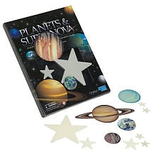Glow in the Dark Novas with Planets