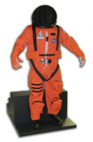 Space Shuttle Pumpkin Space Suit Photo Op