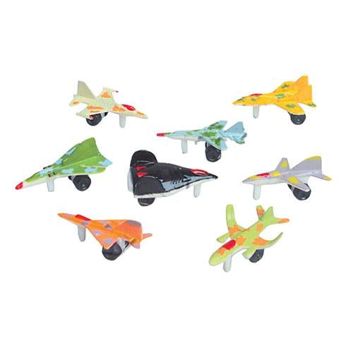 48 assorted fighter planes