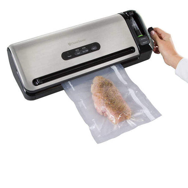 FoodSaver FM3940 Vacuum Sealer in Stainless Steel-Refurbished