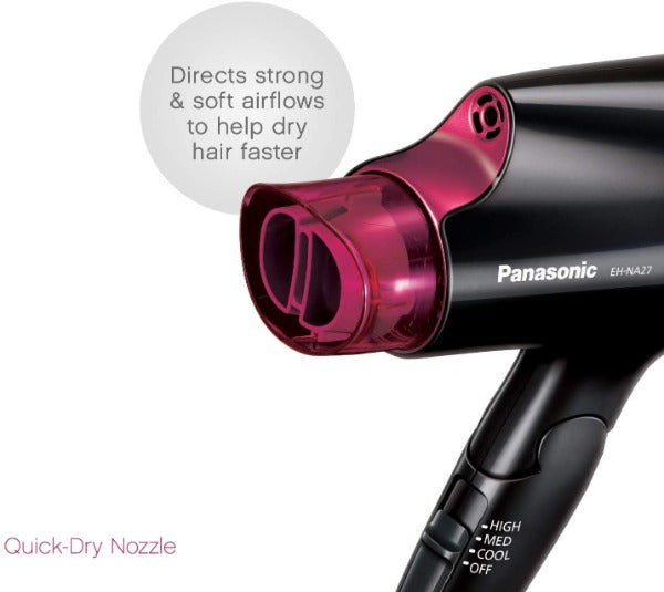 Panasonic EH-NA27 Nance Hair Dryer -Refurbished/90 days Warranty