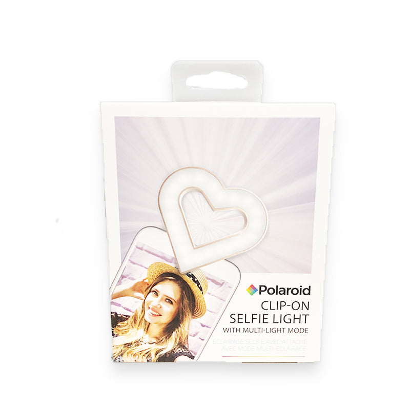 Polaroid Clip-on Selfie Light Heart (PAC118HRT)