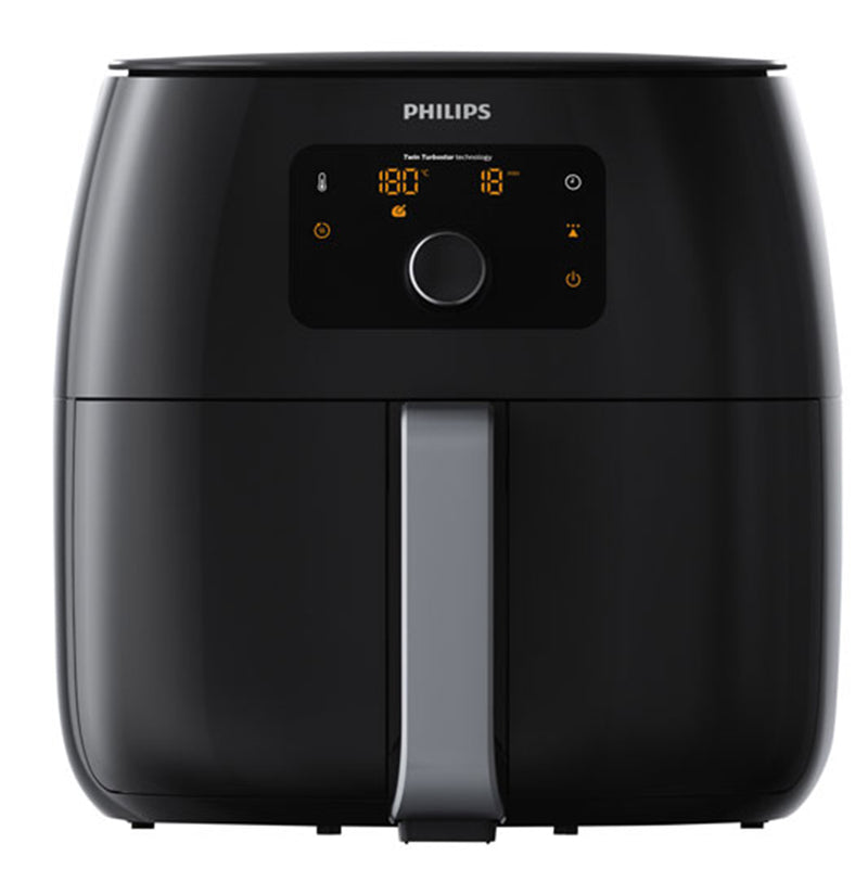 Philips Twin TurboStar XXL Digital Air Fryer(HD9650/96) - 1.4kg - Black-Manufacturer Refurbished