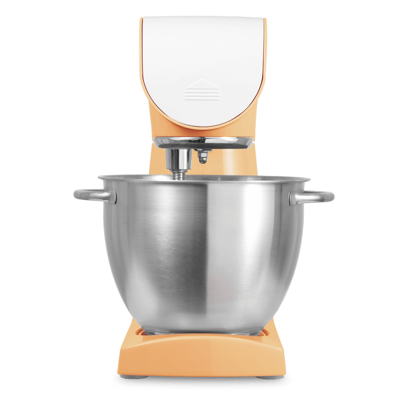 Sencor 8 Speed 4.5L Stand Mixer includes Dough Hook With 6 Attachments(STM-43OR-NAB1) - Orange