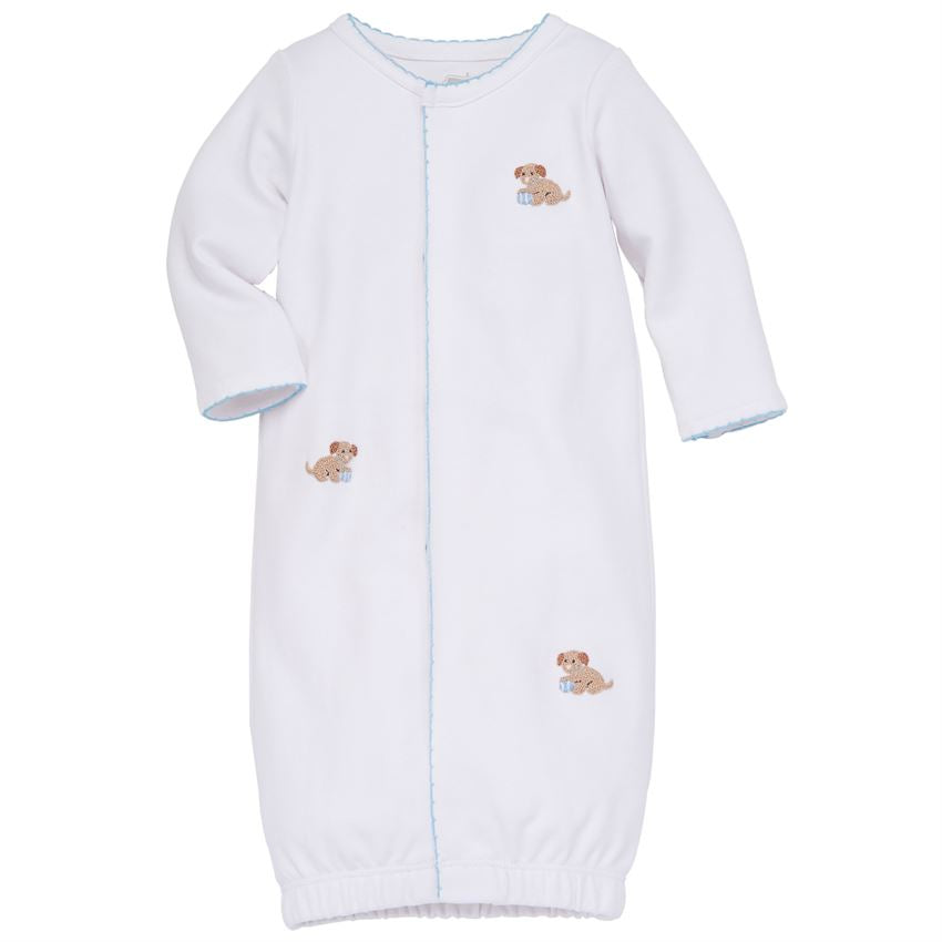 Puppy French Knot Sleep Gown 0-3m