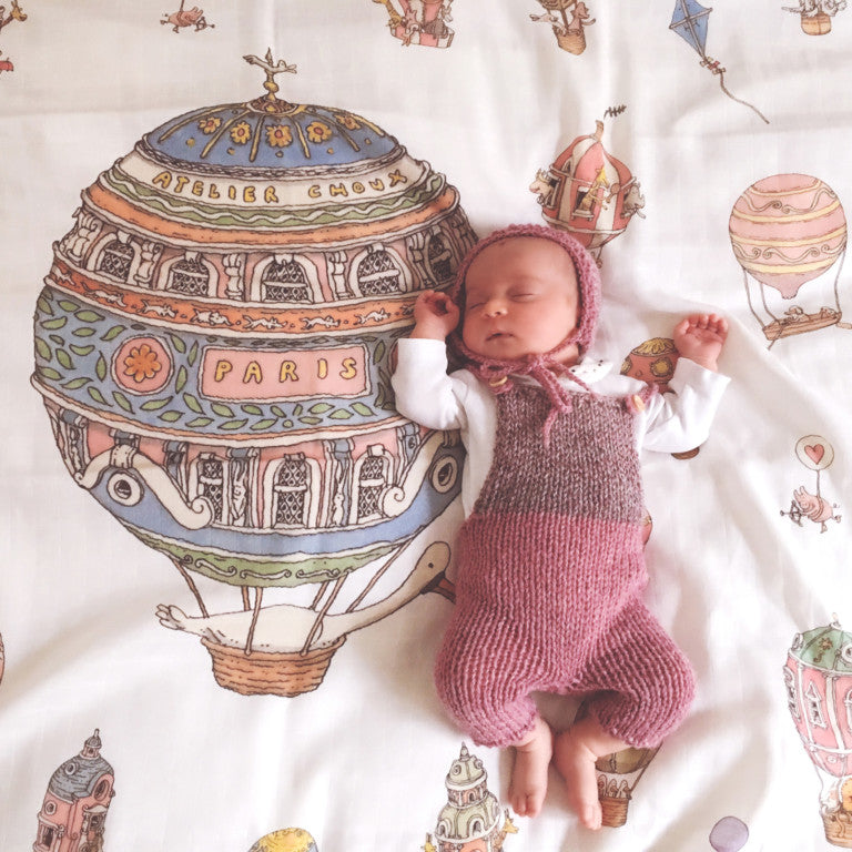 Atelier Choux Swaddle 'Hot Air Balloon'