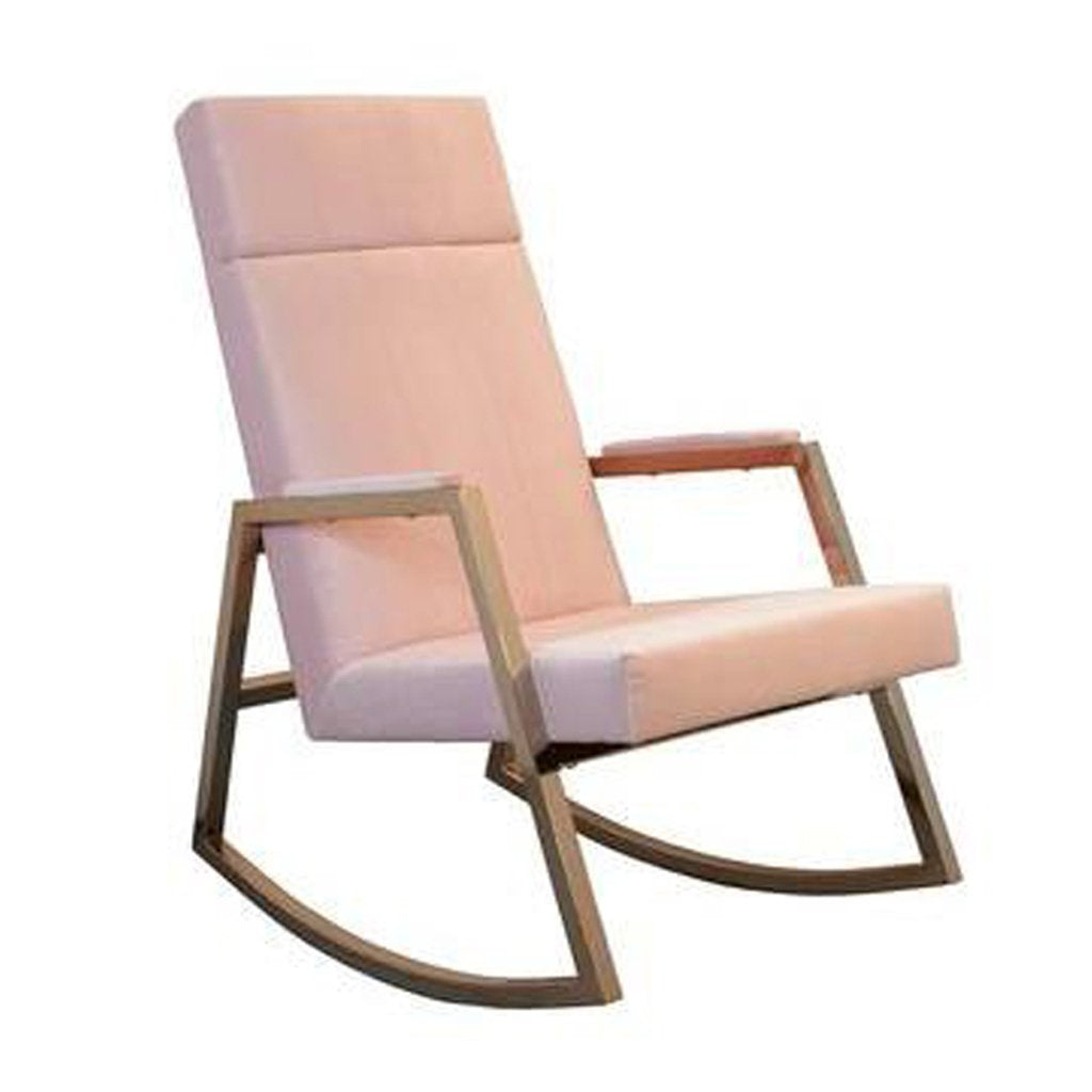 Rose Gold Rocking Chair