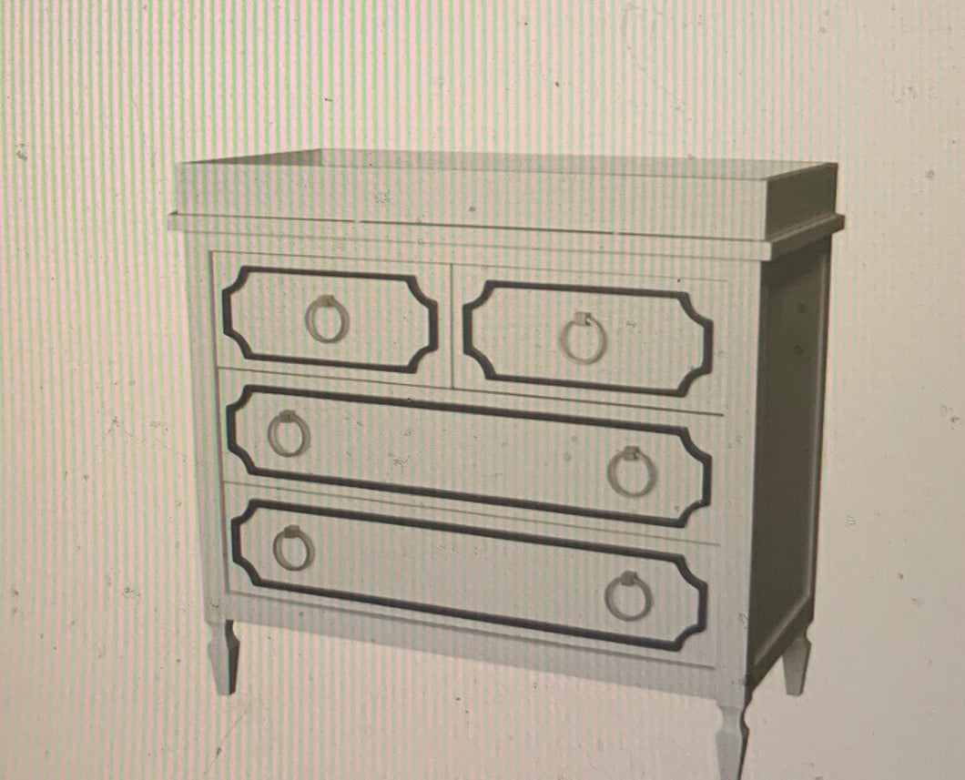 Beverly Changing Table-4 Drawers
