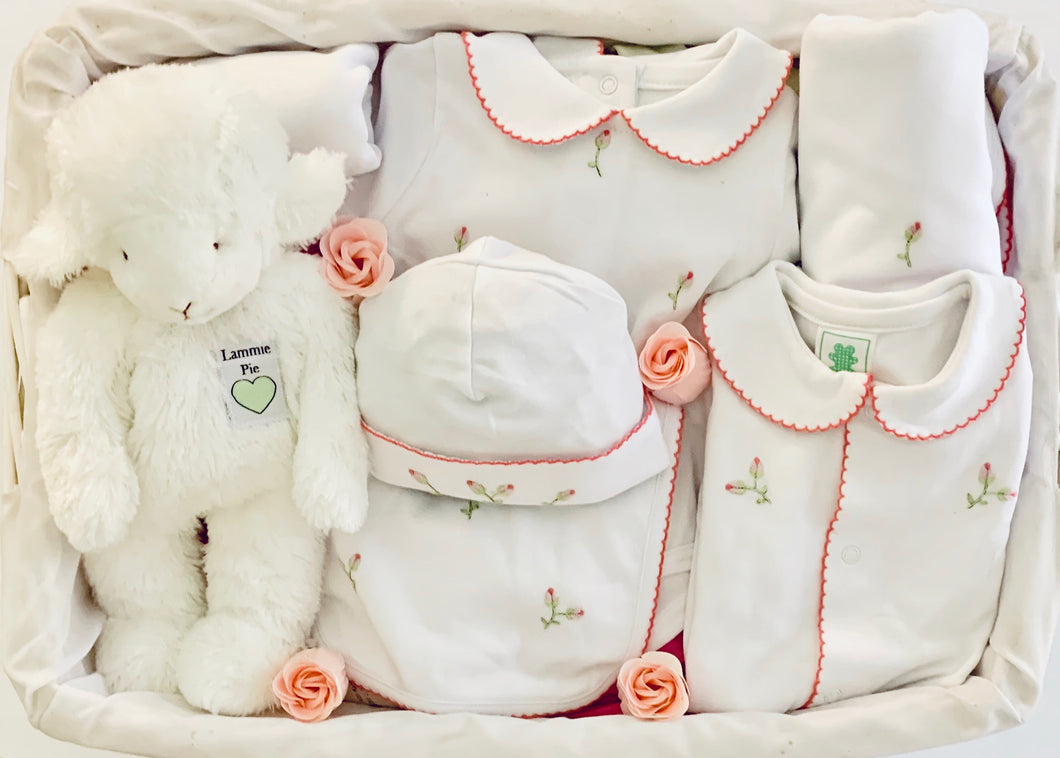 Exclusive Rosebud Gift Basket