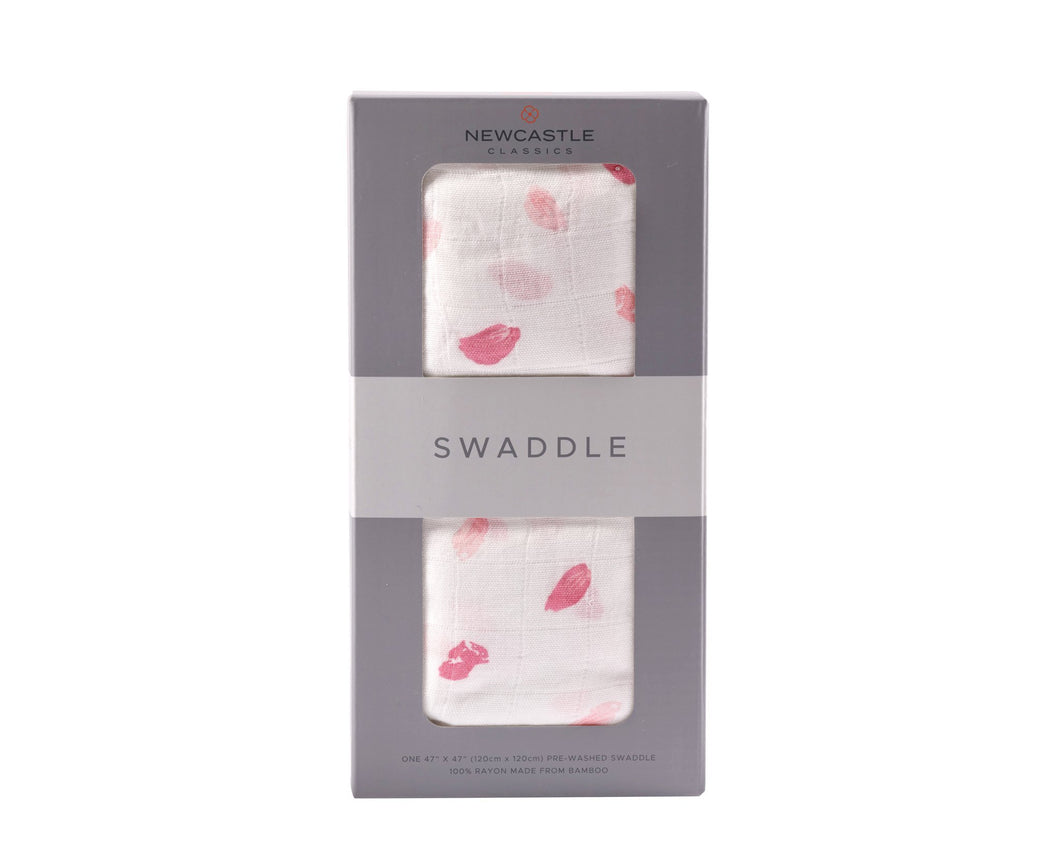 Pink Petals Swaddle