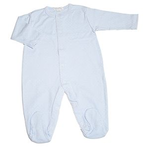 Pima Cotton Layette Blue