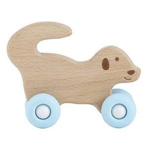 Wooden Animal Silicone Toys