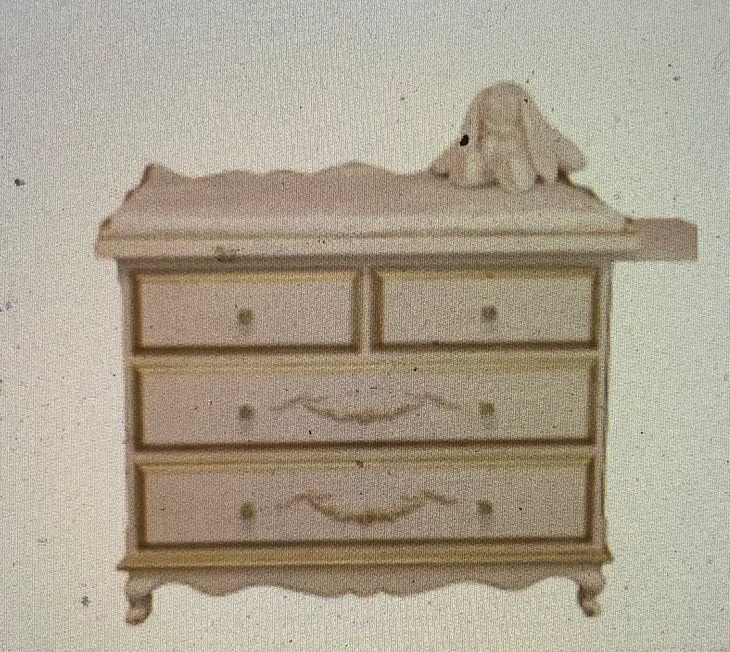 Petit Ange Changing Table- 4 Drawers