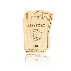 Wooden Teether Passport