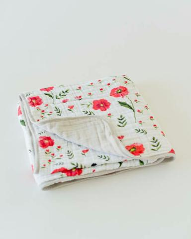 Quilt Cotton Muslin  Poppy