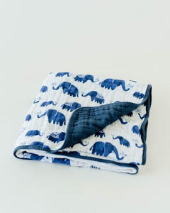 Quilt Cotton Muslin Elephant