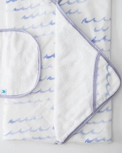 Hooded Towel set High Tides
