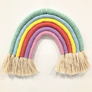 MACRAME RAINBOW MAKING CLASS - Group Bookings Only