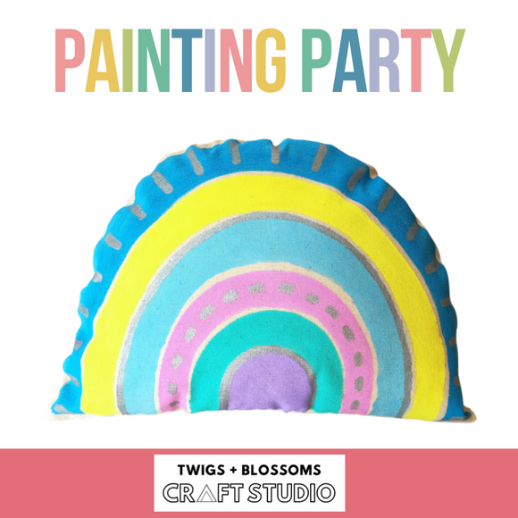 PAINTING PARTY - Ages 8+